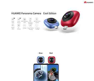 Huawei Plugs into USB Type-C Port EnVizion 360 Camera for Mate 10 Pro and Android Smartphones